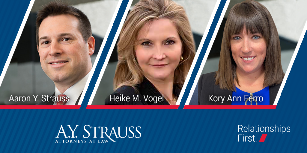 AY Strauss attorneys included in Best Lawyers 2022